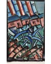 "Jack Jones ""Home to Work *1953 (24 x 16 cm)Watercolour Mounted unframed"