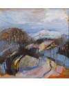 Preseli  30x30 cm  Oil on board