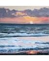 Aled Prichard-Jones 'Machlud Aberdesach' £495 (40x40cm), oil on canvas