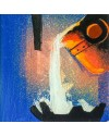 """Roger Davies """"White Hot"""" Welsh Steel Series (7 X 7 Ins) Mixed Media"""