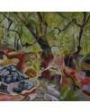 Ystradfellte No 1 Oil on Canvas 90cmx90cm